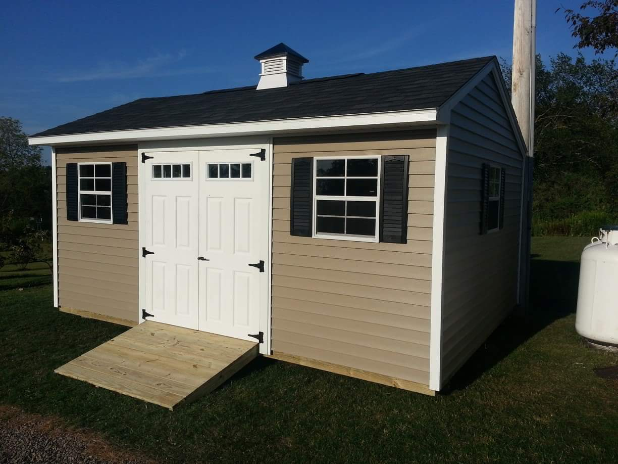 Carriage House Style Sheds By Star Construction