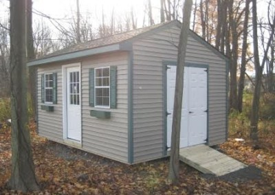 carriage house styled shed erie county