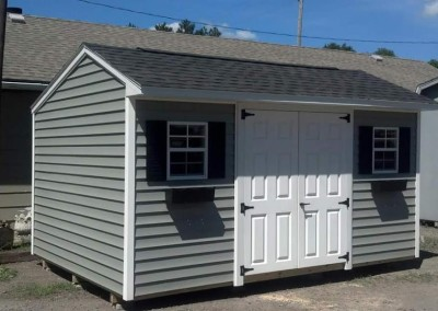 carriage house styled shed western ny