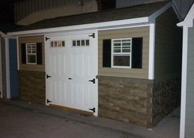 carriage house style shed