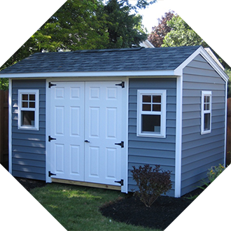 Garden Sheds Rochester Ny star construction sheds - custom sheds built on site