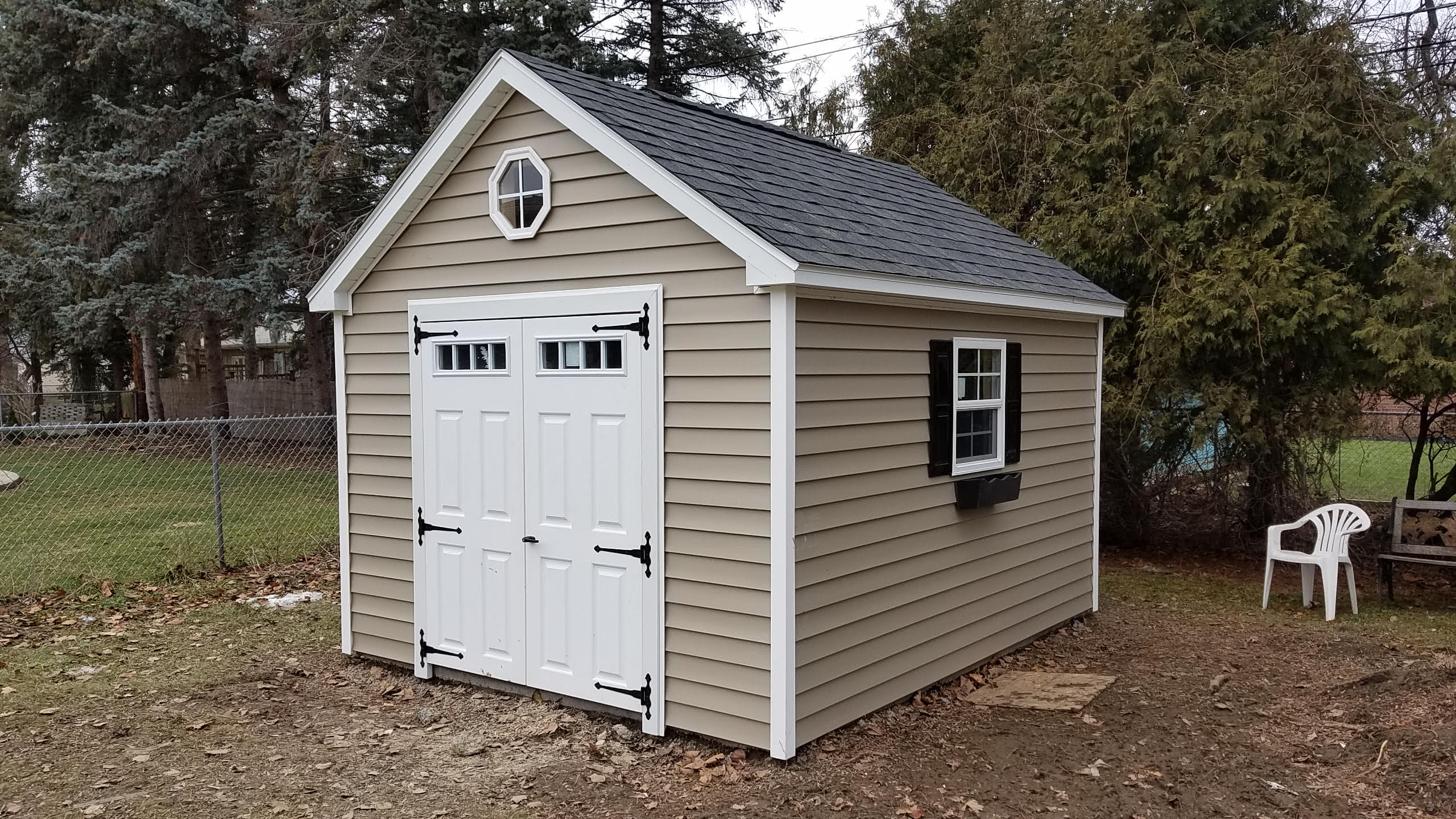 Gable style sheds by star construction for Shed styles