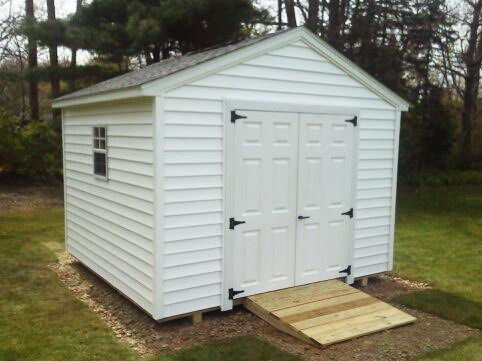 Sheds built on site by star construction sheds for Gable style shed