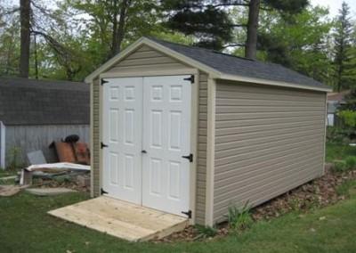 gable style shed wny