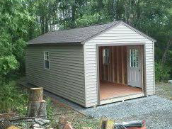 gable styled shed wny Perry, NY