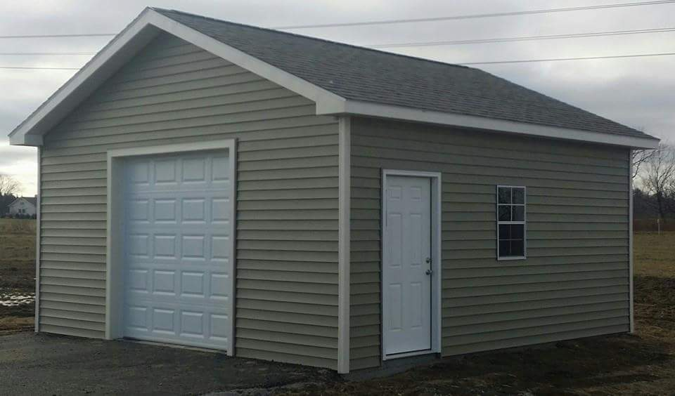 Gable style sheds by star construction for Gable garage