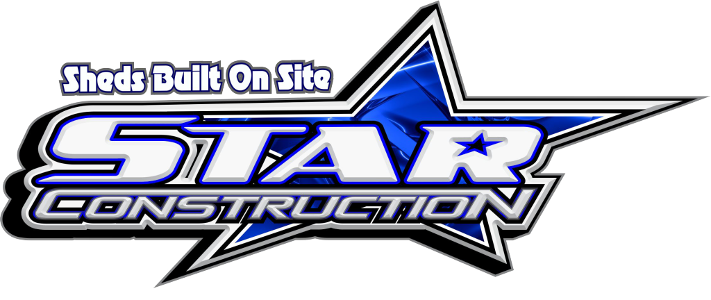 star construction sheds built on site