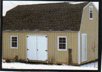 barn styled shed erie county