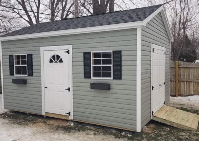 gable shed in buffalo