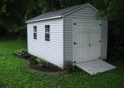 gable style shed Perry, NY