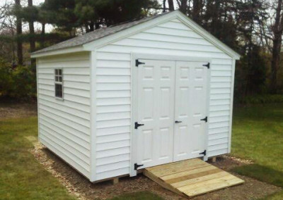 gable style shed erie county