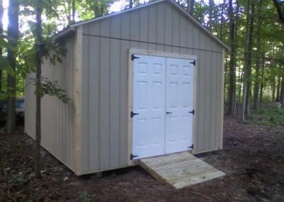 gable style shed western ny