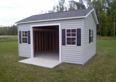 gable styled shed garage Perry, NY