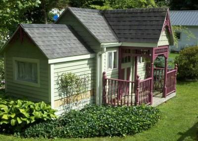 gable style shed Warsaw, NY