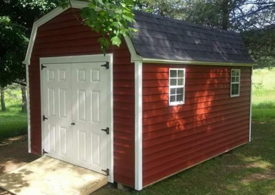red barn style shed erie county